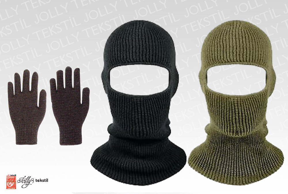 Woolen Head and Gloves